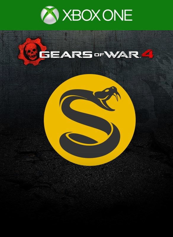 Gears Of War 4 Splyce Supporter 2016 Xbox One Box Cover Art