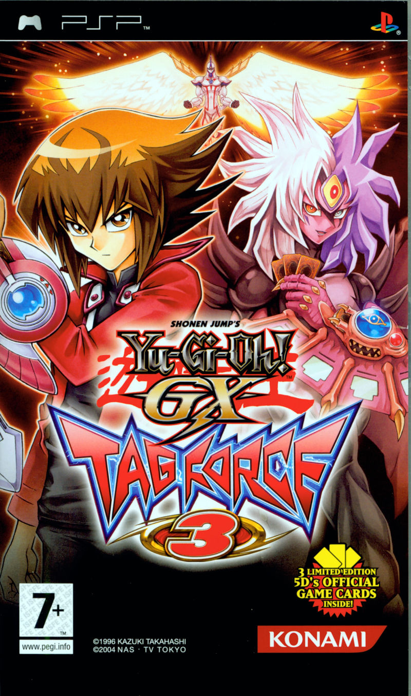 Yu-Gi-Oh!: GX: Tag Force 3 PSP Front Cover