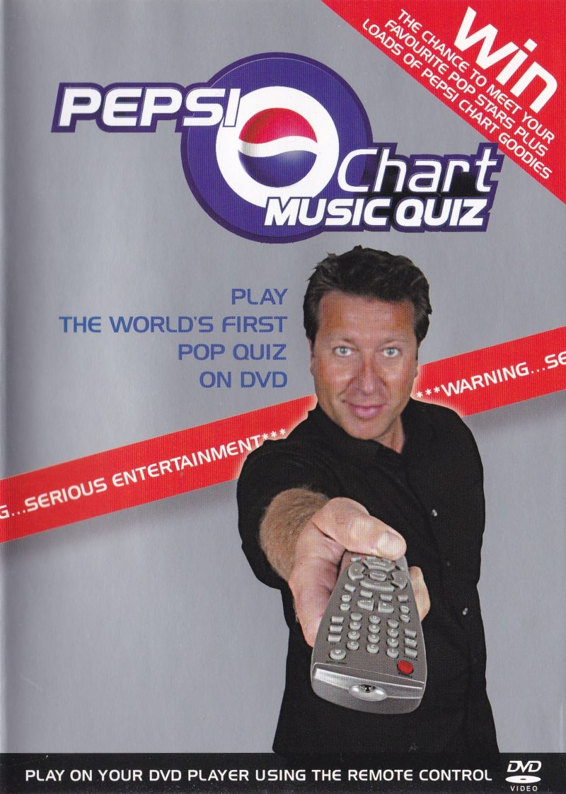 Pepsi Chart Music Quiz: Play The World's First Pop Music Quiz On DVD DVD Player Front Cover