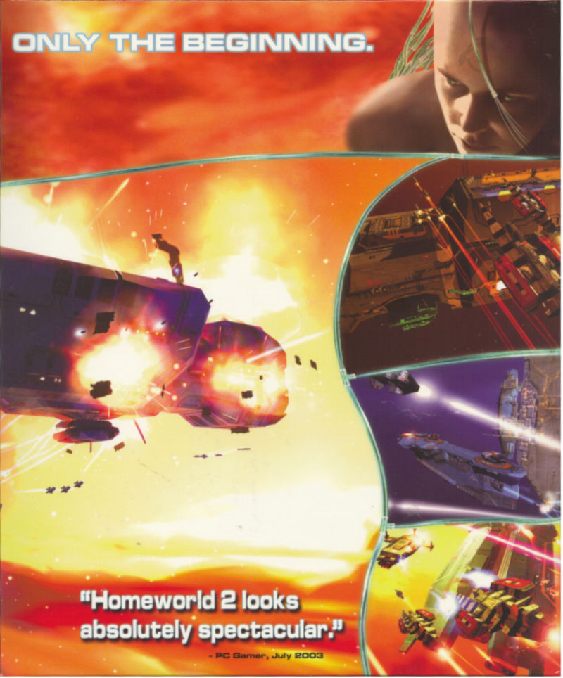 Homeworld 2 Windows Inside Cover Right