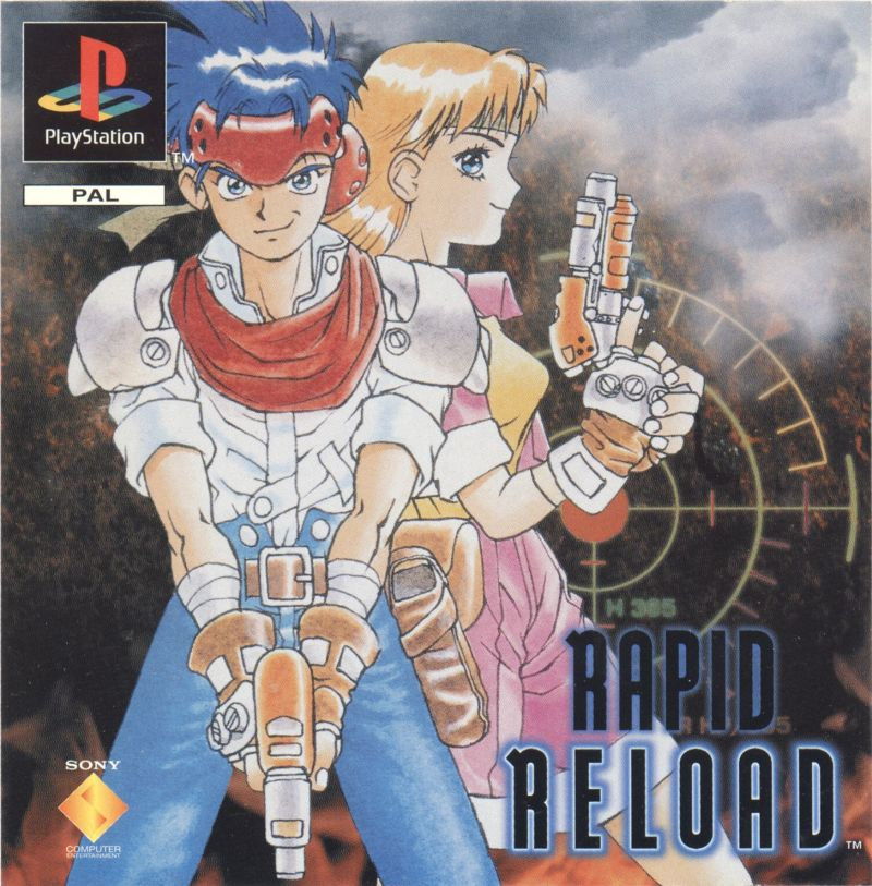 Rapid Reload PlayStation Front Cover