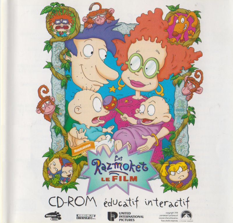 The Rugrats Movie: interactive educational CD-ROM (1998
