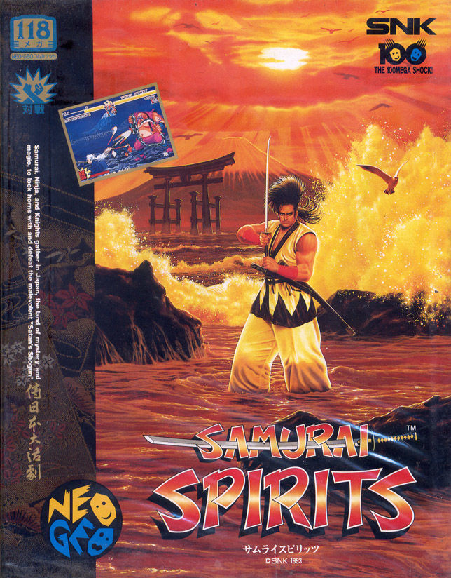 Image result for Samurai Shodown neo geo box art