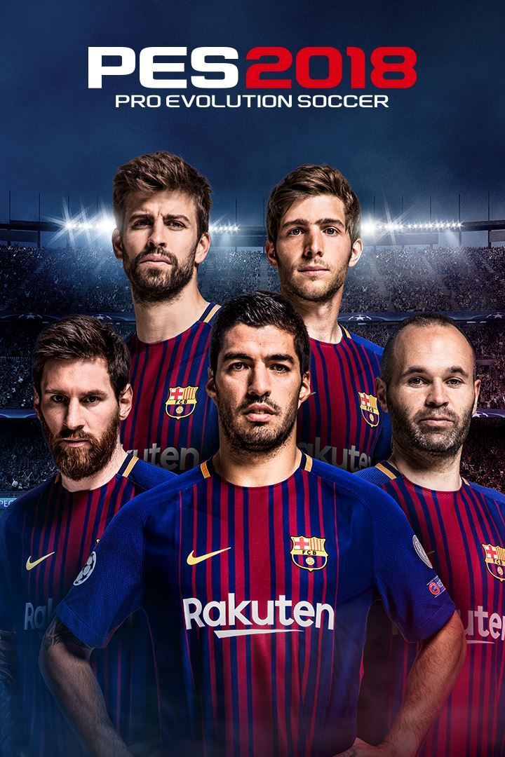 PES 2018 /  FC Barcelona Edition  | RePack By  R.G. Механики