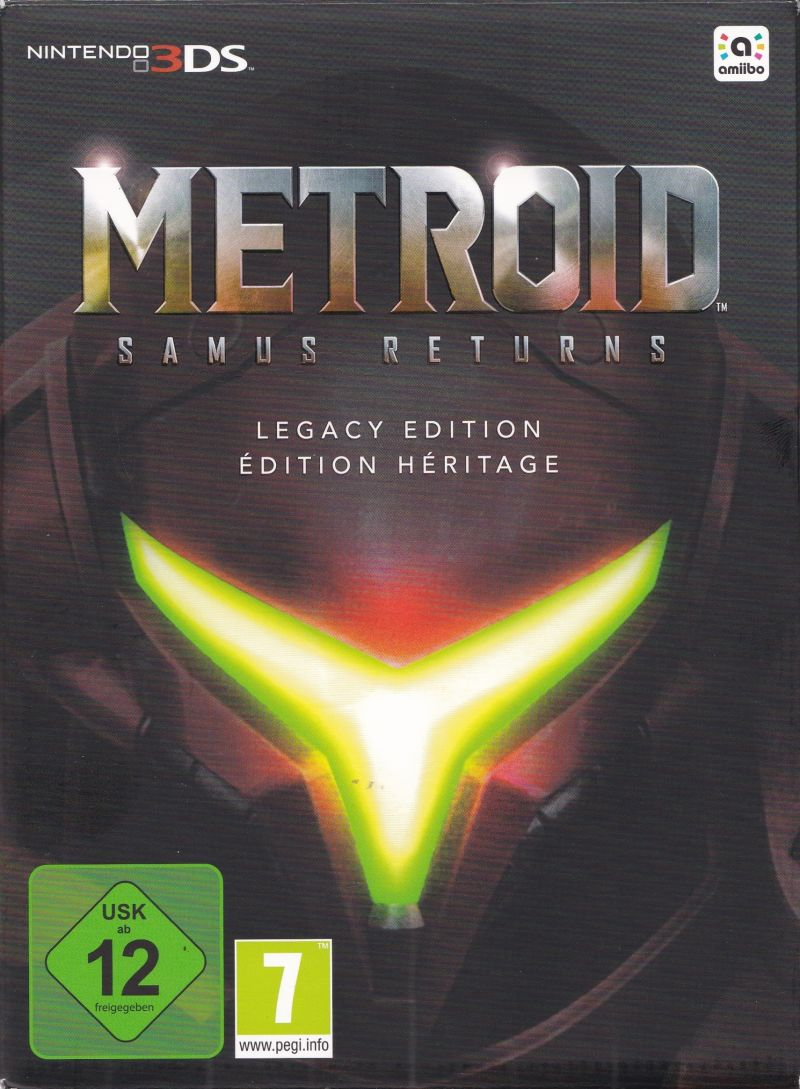 Metroid: Samus Returns (Legacy Edition) Nintendo 3DS Front Cover