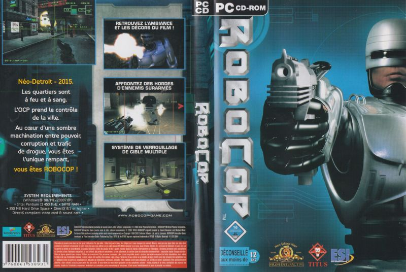 RoboCop Windows Full Cover