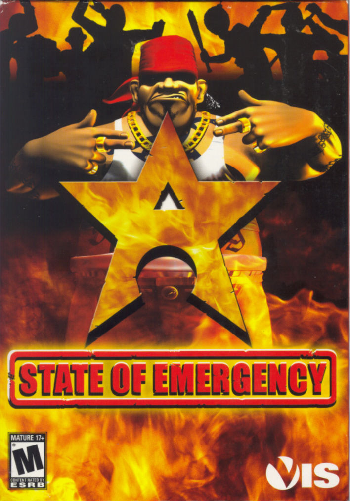 State of Emergency Windows Front Cover