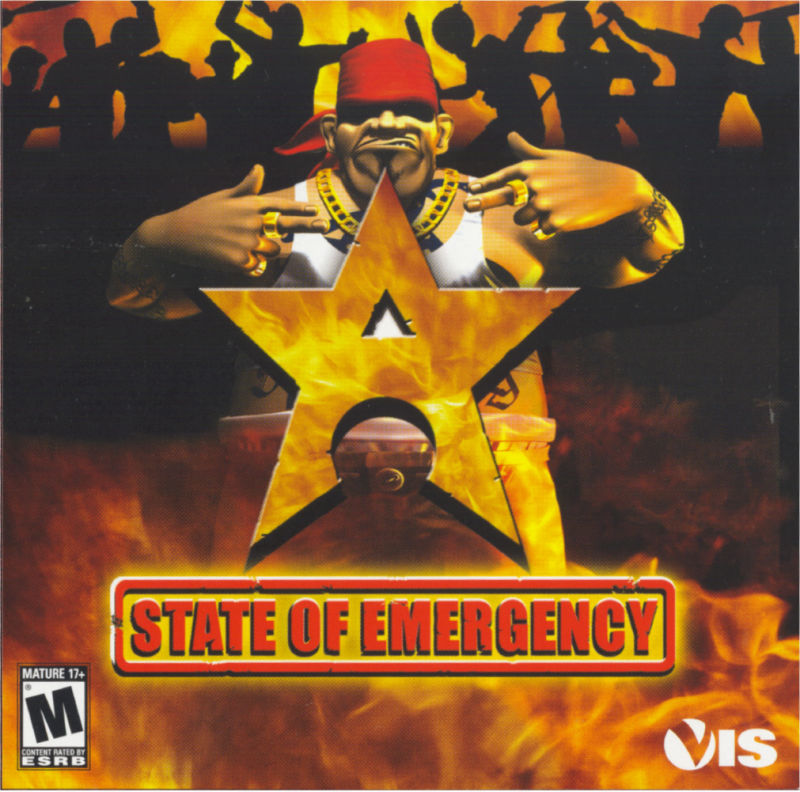 State of Emergency Windows Other Jewel Case - Front