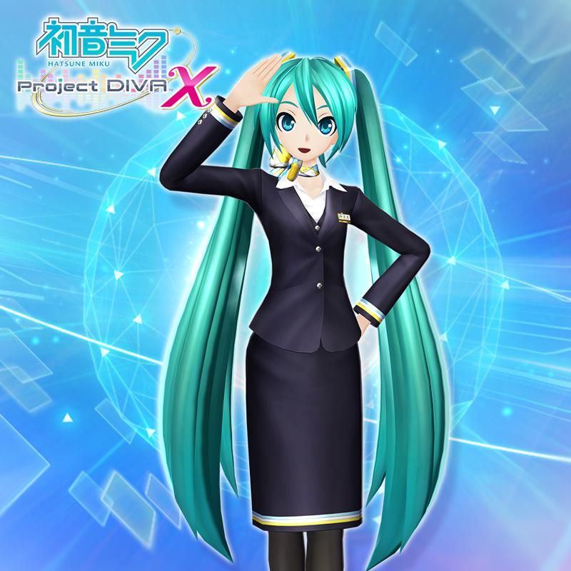 Hatsune miku project diva x cabin attendant style 39 for playstation 4 2016 mobygames - Hatsune miku project diva x ...