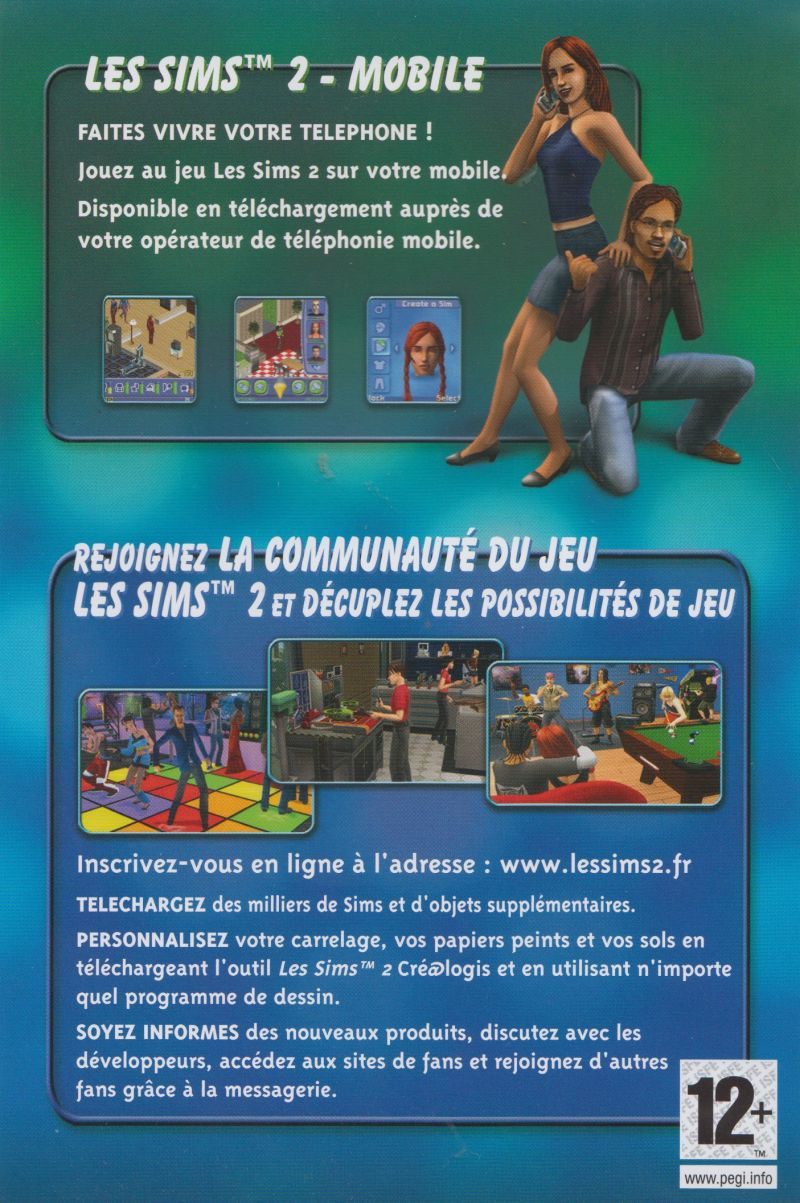 The Sims 2 Glamour Life Stuff Windows Advertisement
