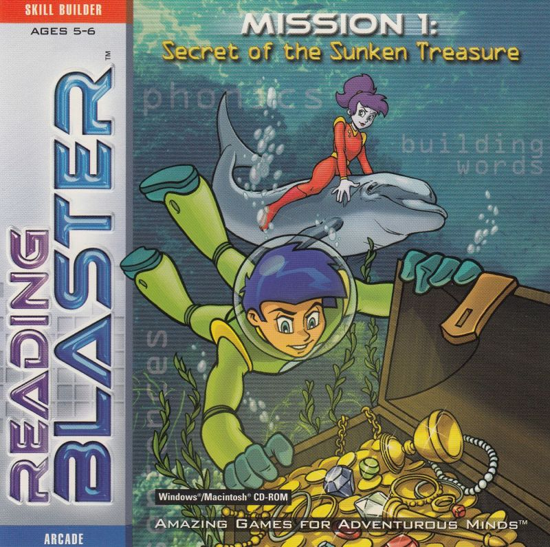 Reading Blaster Mission 1: Secret of the Sunken Treasure