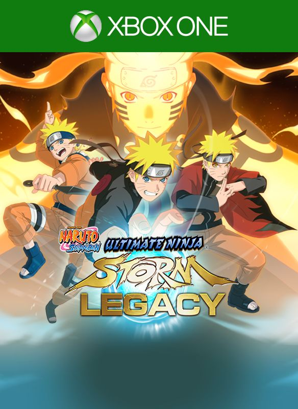 Naruto Shippuden Ultimate Ninja Storm Legacy Xbox One Front Cover 1st Version