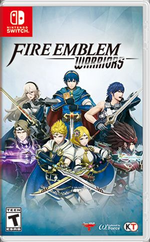 Fire Emblem: Warriors Nintendo Switch Front Cover 1st version