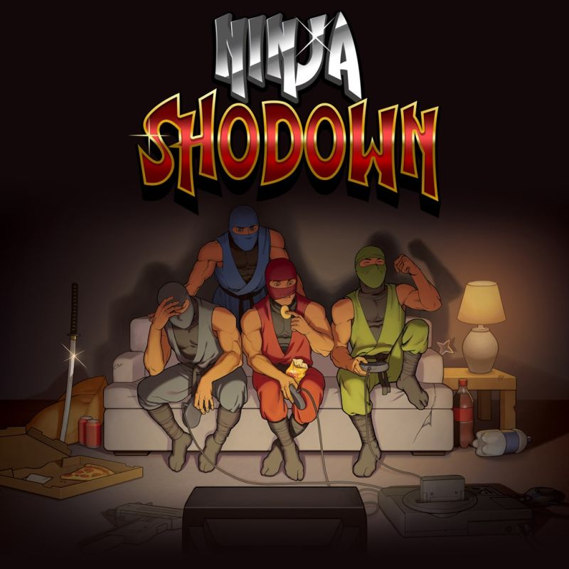 Ninja Shodown PlayStation 4 Front Cover