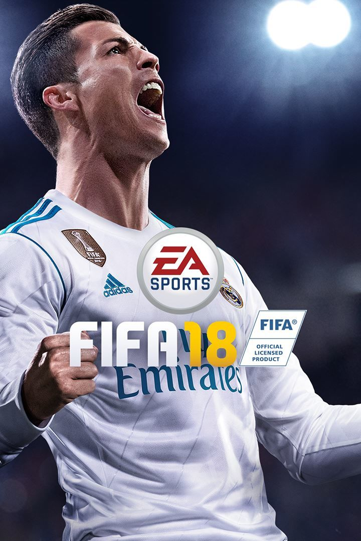 fifa 18 2017 playstation 4 box cover art mobygames. Black Bedroom Furniture Sets. Home Design Ideas