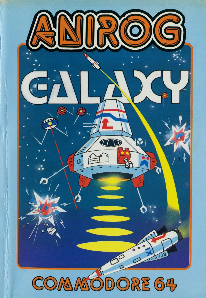 Galaxy Commodore 64 Front Cover