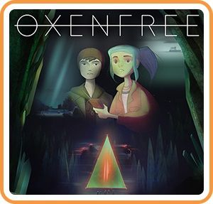 Oxenfree Nintendo Switch Front Cover