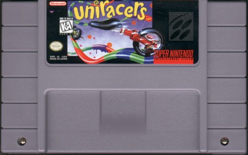 Uniracers SNES Media
