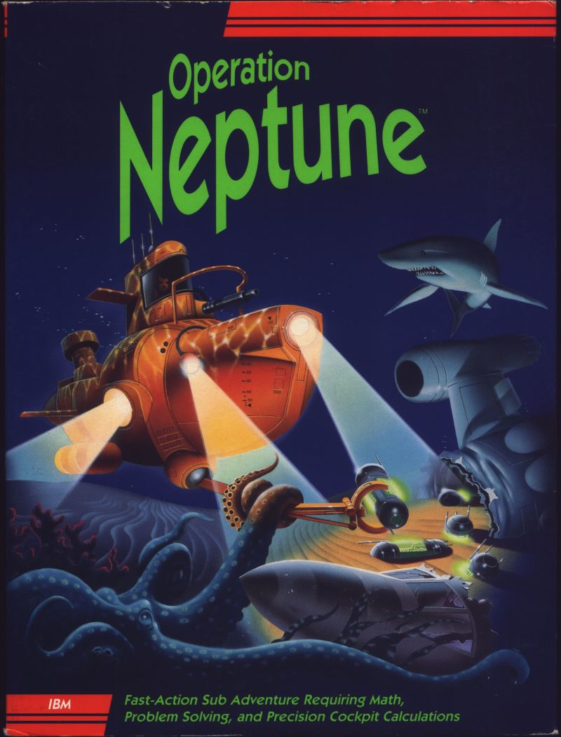 Operation Neptune 1991 Dos Box Cover Art Mobygames