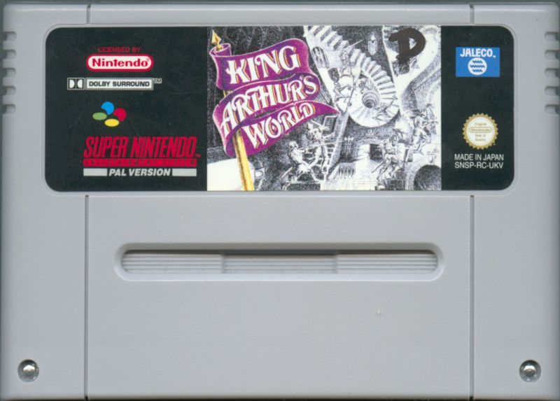 King Arthur's World SNES Media