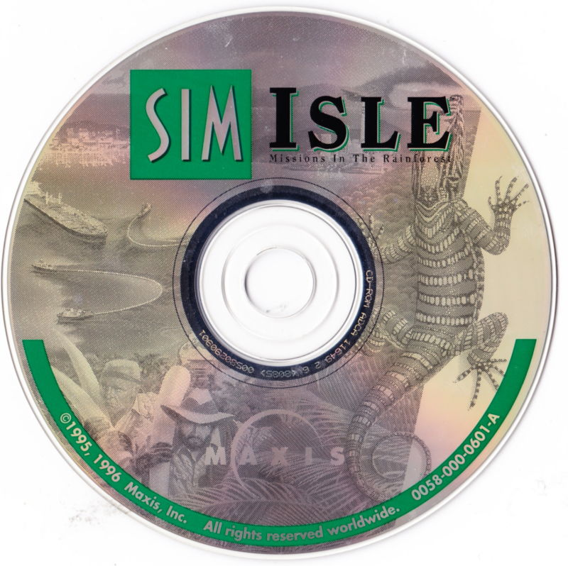 SimIsle: Missions in the Rainforest Macintosh Media