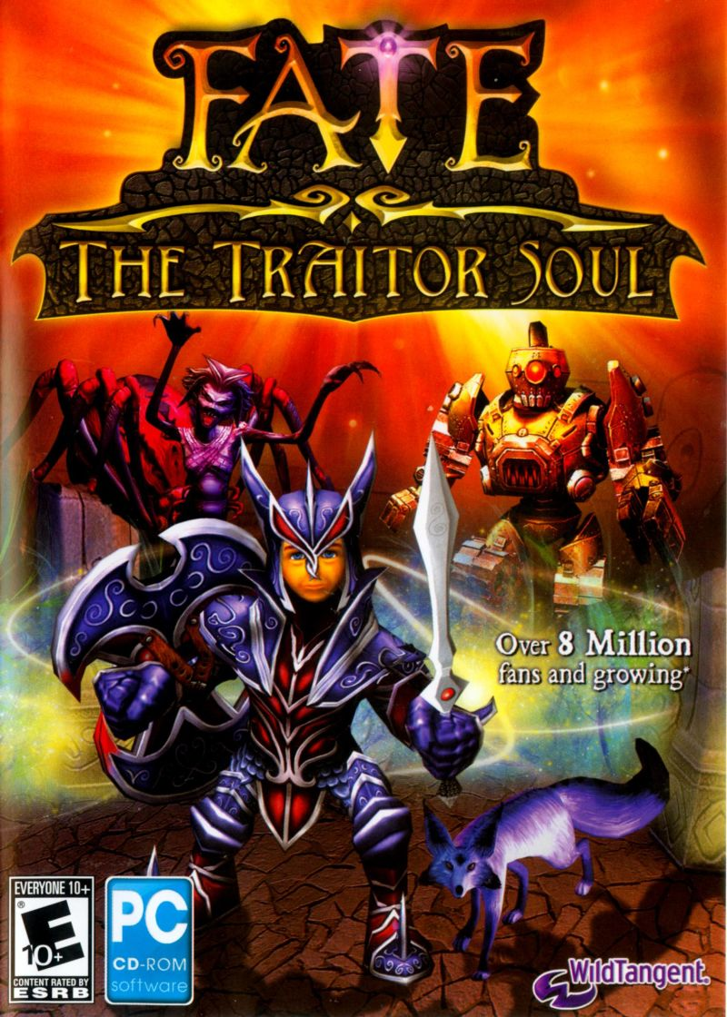 Fate: The Traitor Soul Windows Front Cover