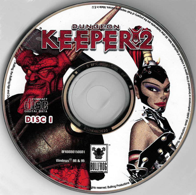 Dungeon Keeper 2 Windows Media Disc 1