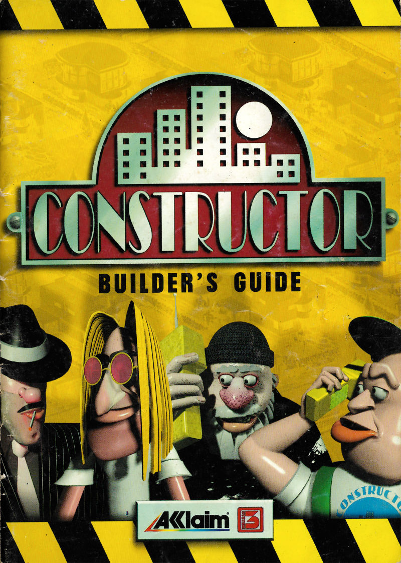 Constructor DOS Manual Front