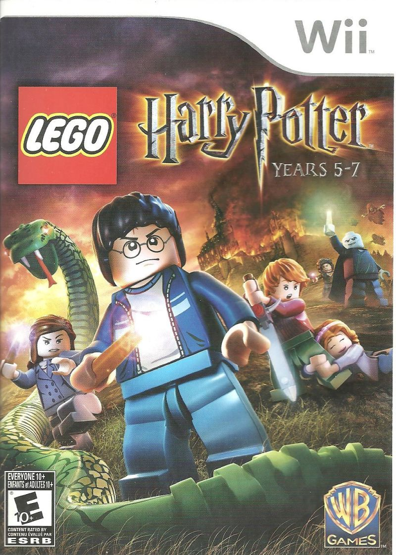 LEGO Harry Potter: Years 5-7 Wii Front Cover
