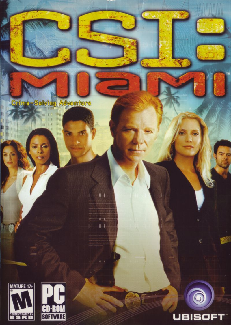 CSI: Miami Windows Front Cover