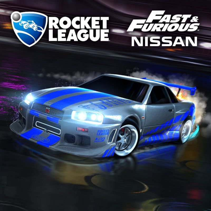 Rocket League Fast Amp Furious 99 Nissan Skyline Gt R R34