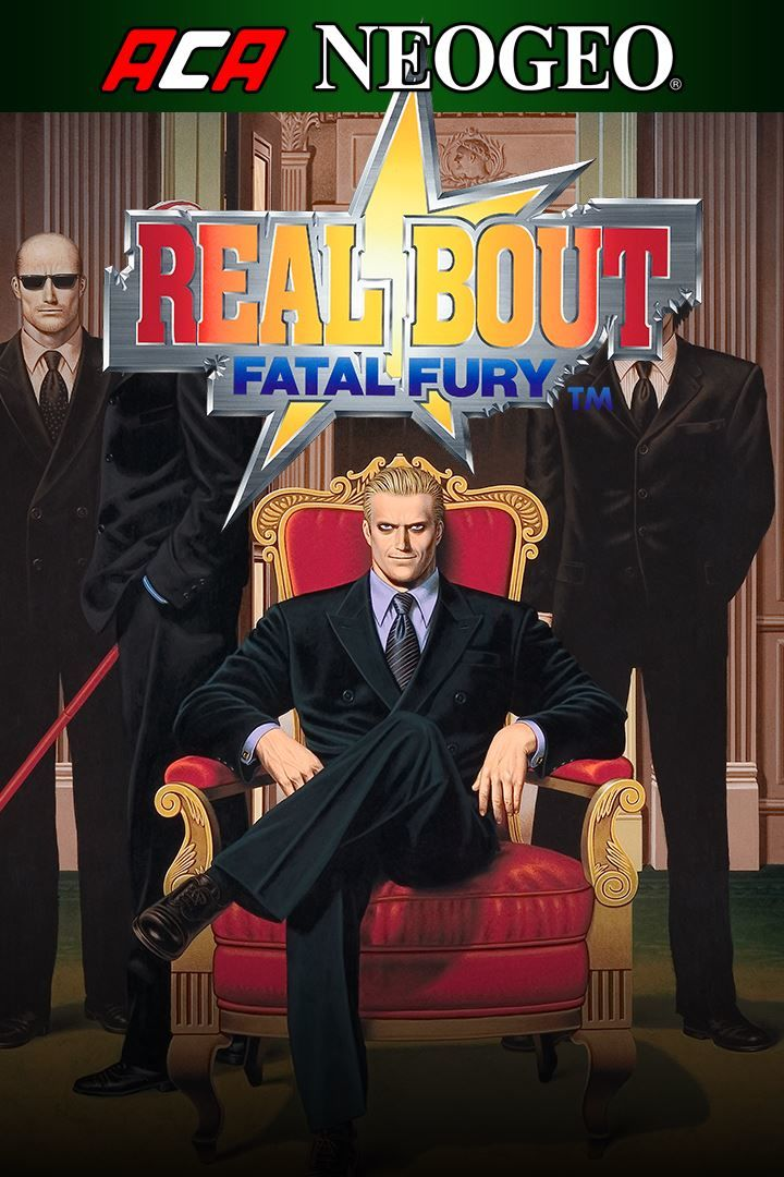 Real Bout Fatal Fury Xbox One Front Cover