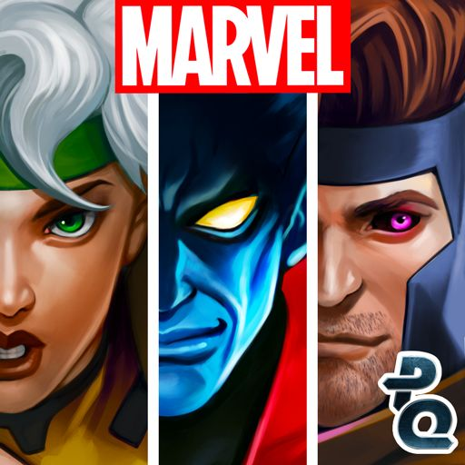 Marvel Puzzle Quest Android Front Cover R137 release