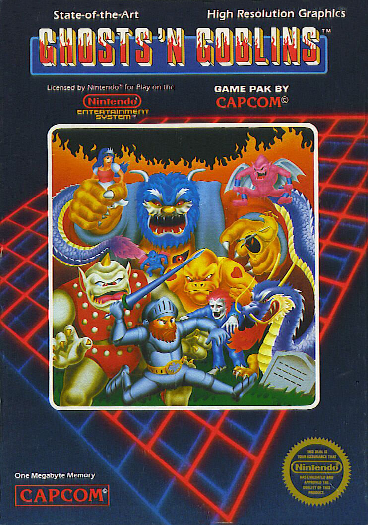 Ghosts 'N Goblins (1986) NES credits - MobyGames