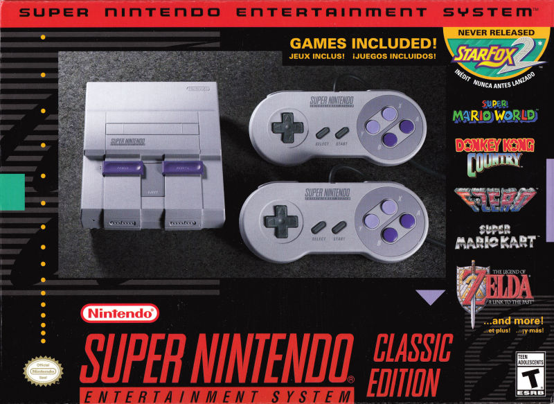 Super Nintendo Entertainment System Super Nes Classic Edition 2017