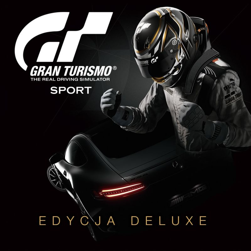gran turismo sport digital deluxe edition 2017 playstation 4 box cover art mobygames. Black Bedroom Furniture Sets. Home Design Ideas