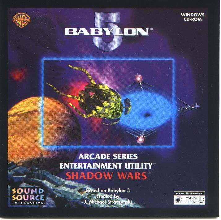 Babylon 5: Shadow Wars Windows Front Cover