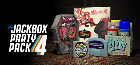 The Jackbox Party Pack 4 Macintosh Front Cover