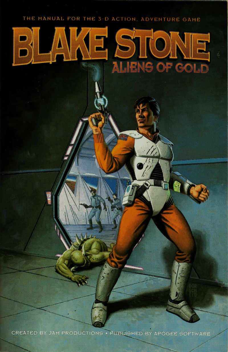 Blake Stone: Aliens of Gold DOS Manual