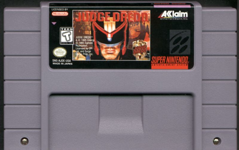 Judge Dredd SNES Media