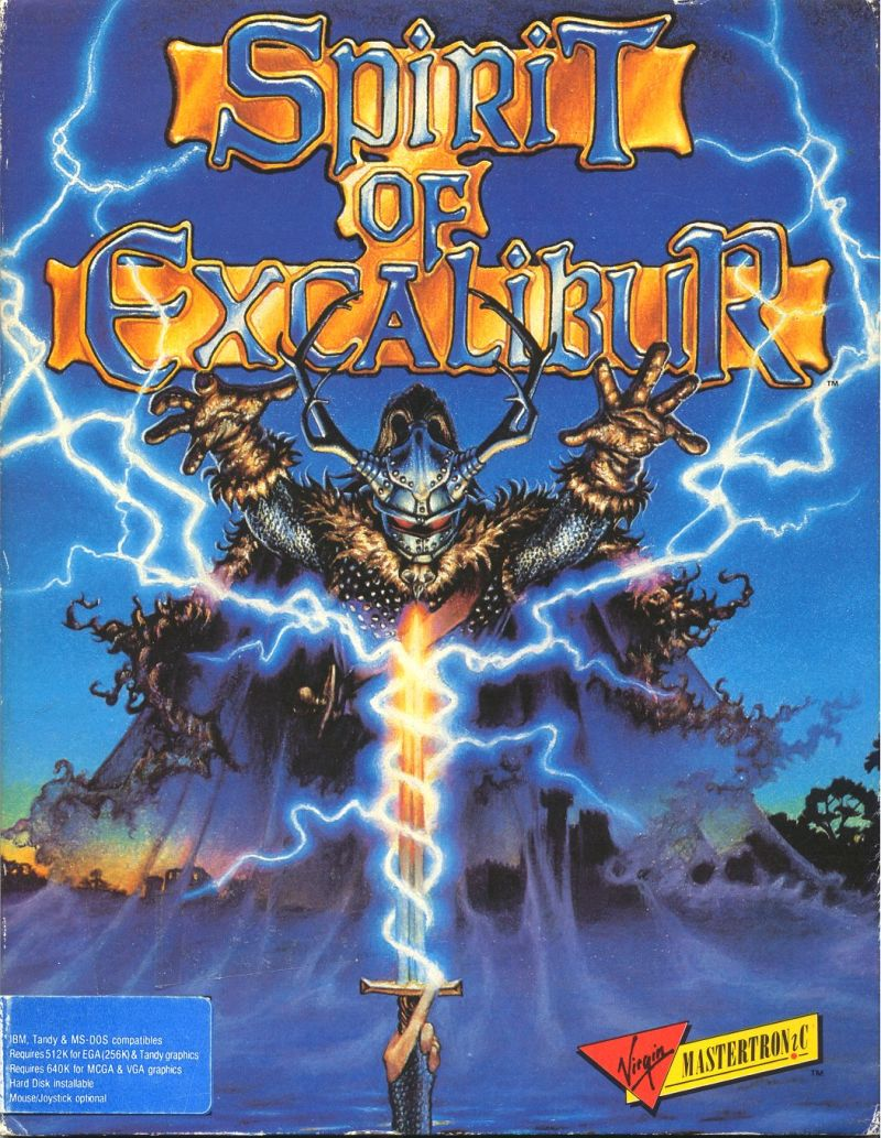 Spirit of Excalibur DOS Front Cover