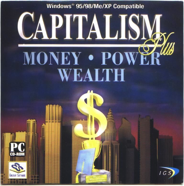 Capitalism Plus Windows Front Cover