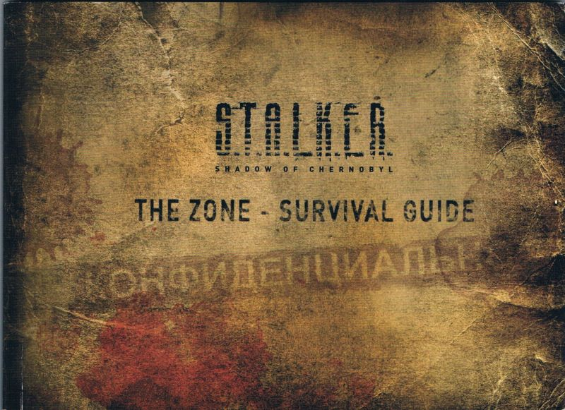 The zone survival guide zone map.