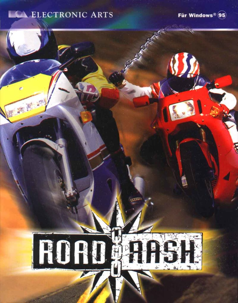 Road Rash Windows Front Cover