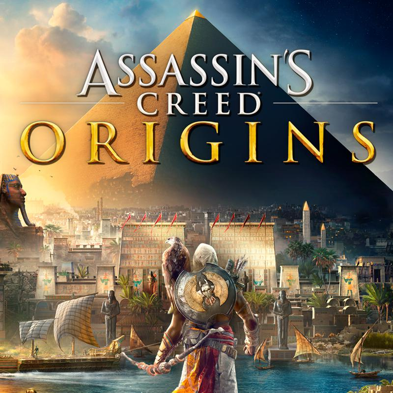 Assassin's Creed: Origins (2017) PlayStation 4 box cover ...
