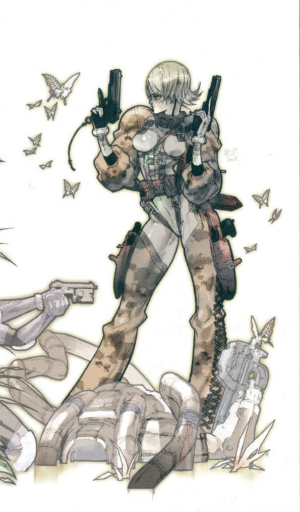 Metal Gear Ac!d PSP Inside Cover Right