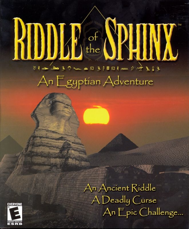 Riddle of the Sphinx: An Egyptian Adventure Macintosh Front Cover