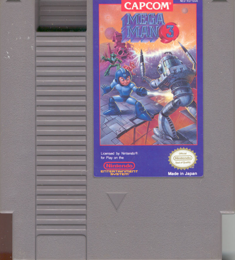 Mega Man 3 NES Media