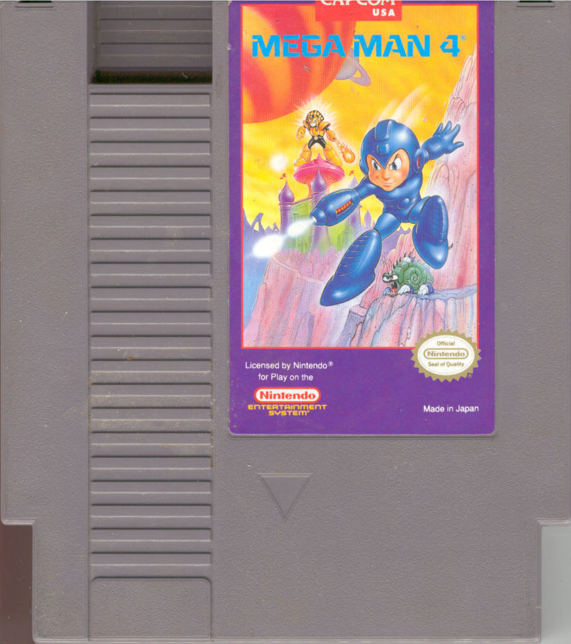 Mega Man 4 NES Media