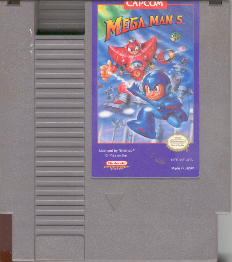 Mega Man 5 NES Media